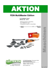 Aktion FEIN MultiMaster Edition